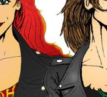 Heavy Metal Chicks Sticker