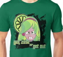 Lemon Zest: Get Zest or Get Out Unisex T-Shirt