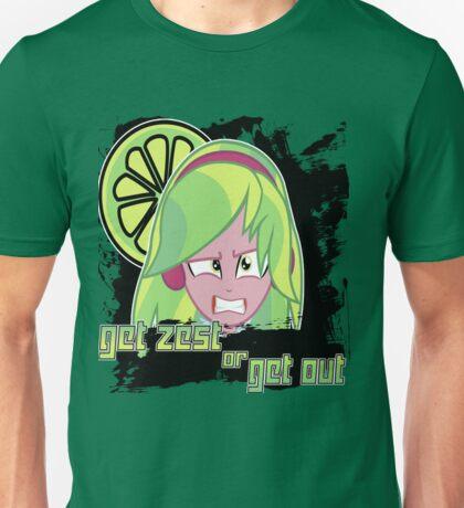 Lemon Zest: Get Zest or Get Out Unisex T-Shirt