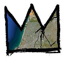 "Basquiat ""King of Tel Aviv-Yafo Israel"" Photographic Print"