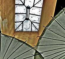 Skylight And Parasols by Scott Johnson