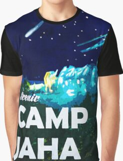 The 100 - Vintage Travel Poster (Camp Jaha) Graphic T-Shirt