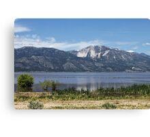 Washoe Lake Canvas Print