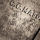 The Texas Chain Saw Massacre - C.C. Mason Grave by Trish Mistric