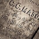 The Texas Chain Saw Massacre - C.C. Mason Grave by Trish Mistric