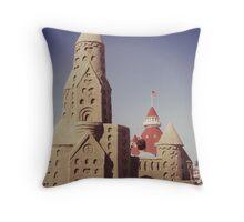 SANDCASTLE #104 Throw Pillow