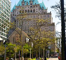 Fairmont Hotel, Vancouver, Canada, 2012. by johnrf