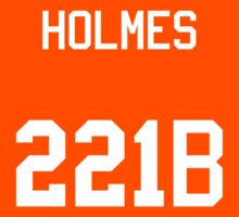 Sherlock Holmes jersey (v2) Kids Tee
