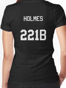 Sherlock Holmes jersey (v2) Women's Fitted V-Neck T-Shirt