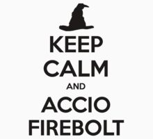 Keep Calm and Accio Firebolt by zachsbanks