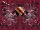 Heart (abiogenesis dreaming 003) by Karl David Hill