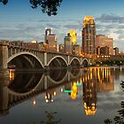 Third Avenue Bridge in Minneapolis by JimGuy