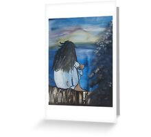 """""""Gazing At His Greatness""""  by Carter L. Shepard Greeting Card"""