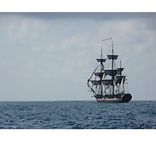 HMS Surprise in the distance Photographic Print