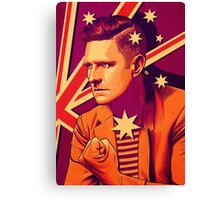 Wil Anderson - Political Wil (textless) Canvas Print