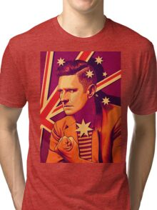 Wil Anderson - Political Wil (textless) Tri-blend T-Shirt