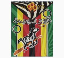 Zimbabwe Zebras Quidditch Team Kids Clothes
