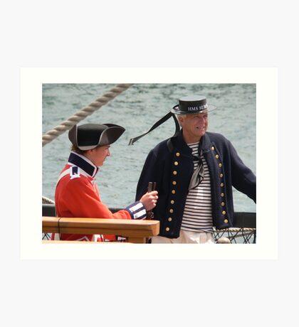 Marine and Sailor Art Print