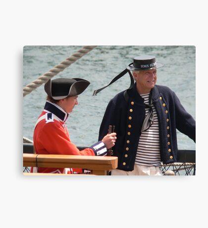 Marine and Sailor Canvas Print