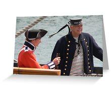 Marine and Sailor Greeting Card