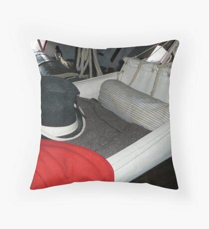 Royal Marine's Cot Throw Pillow