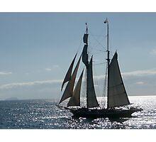 Sailing Away Photographic Print
