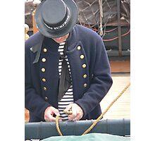 Sailor Photographic Print