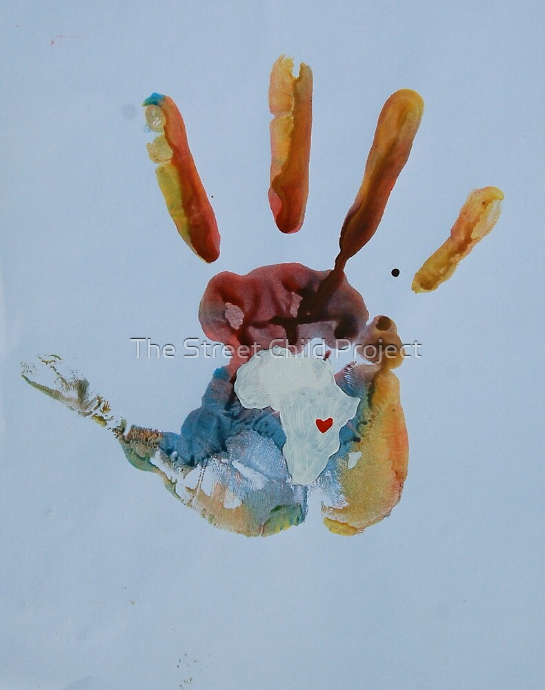 Warm Handprint by The Street Child Project