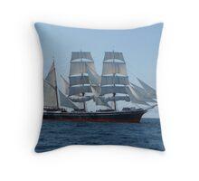 Star of India at Sea Throw Pillow