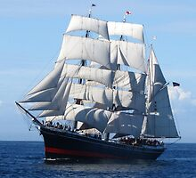 Star of India Under Sail. by Katherine Pogue