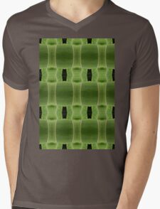Digital nature Mens V-Neck T-Shirt