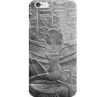 Goddess Isis in Black and White iPhone Case/Skin