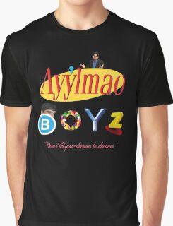 Ayy LMAO Boyz - Official Crew Shirt - Extra Meme Edition Graphic T-Shirt