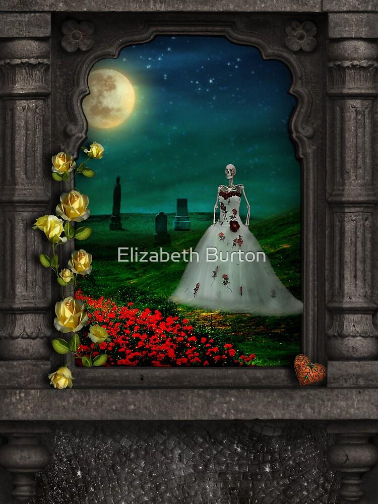 """Dia De Los Muertos """"The Bride"""" by Elizabeth Burton"""