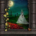 "Dia De Los Muertos ""The Bride"" by Elizabeth Burton"