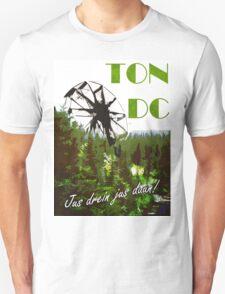 The 100 - Vintage Travel Poster (Ton DC) T-Shirt
