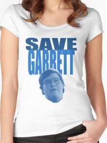 Save Garrett Women's Fitted Scoop T-Shirt