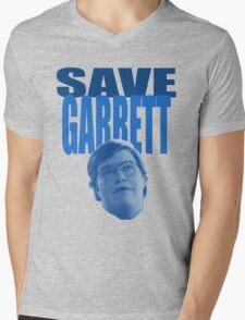 Save Garrett Mens V-Neck T-Shirt