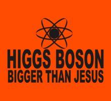 Higgs Boson Bigger Than Jesus Kids Tee