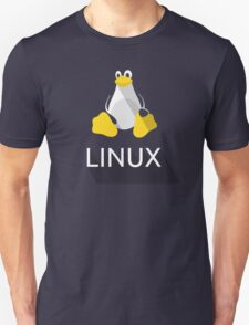 Tux the Penguin flatshaded Unisex T-Shirt