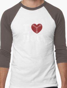 Great Scott! (for Dark T's) Men's Baseball ¾ T-Shirt