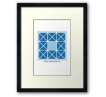 Design 98 Framed Print