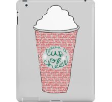 Red Cup Life iPad Case/Skin