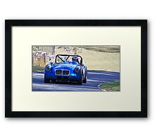MG Sports Car Framed Print