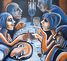 Dinner With Friends by CarmenT