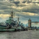 HMS Belfast by cameraimagery