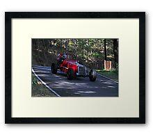 Vintage Ford Racing Car Framed Print