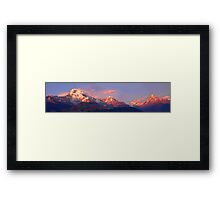 Annapurna Sunset Framed Print