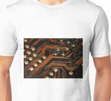 Neon Style Digital Age Processor Board Unisex T-Shirt