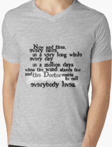 Everybody Lives  Mens V-Neck T-Shirt